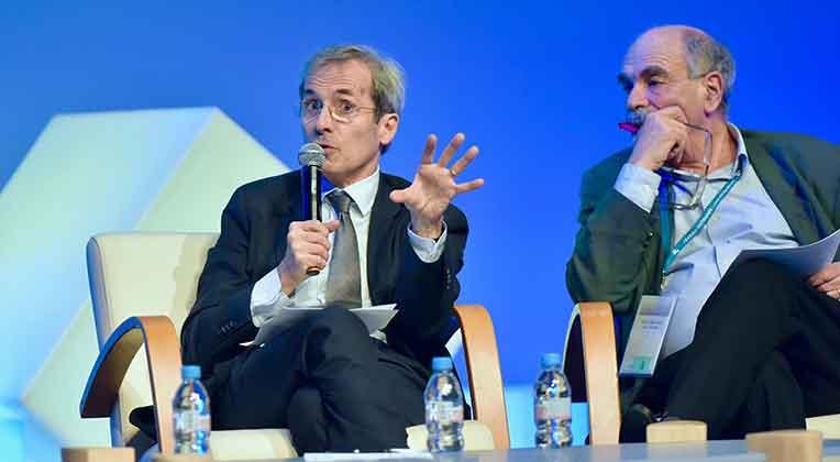 Yves Saint-Geours et Michel Wieviorka