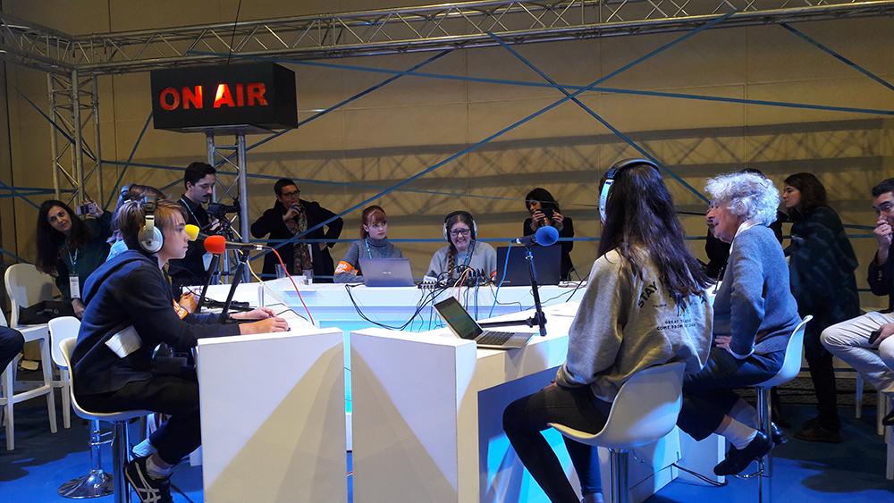 La webradio du congrès reçoit Ariane Mnouchkine