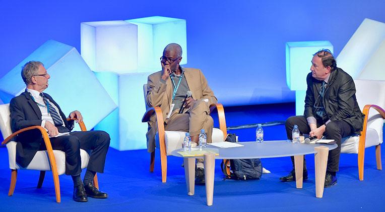 Jean-Christophe Deberre, Souleymane Bachir Diagne, Jean-Pierre Dozon