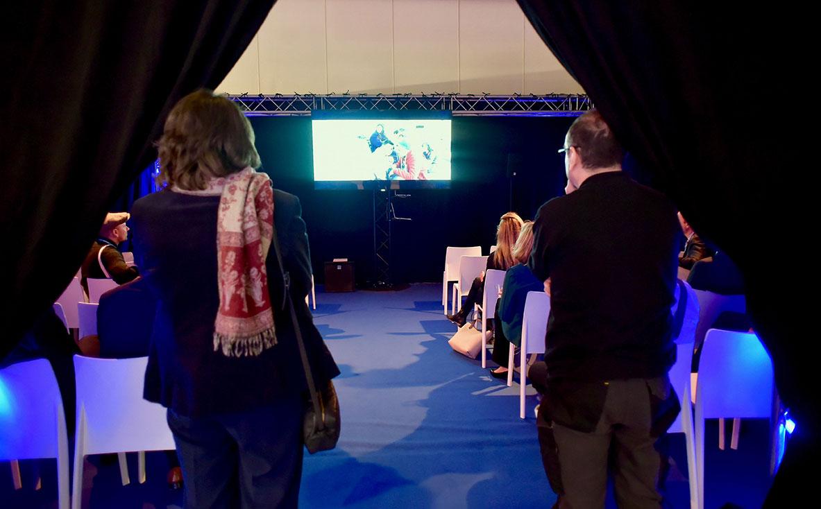 Projection cinéma, Solidarité Laïque, Deauville